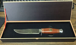 Falkner Buffalo Bill The Wild West Bowie Knife Stainless Steel Collector's Ed.