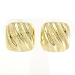 Jewelry 18k Yellow Gold Earring About8.5g Free Shipping Used