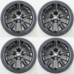 4set 20 20x10/20x11 5x120 Wheels And Tires Package Chevy Camaro Ss Rs Ls Zl1
