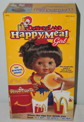 Mcdonald's Rare Vintage 1997 Happy Meal Girl African American Doll New