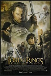 Lord Of The Rings - Return Of The King - Framed Movie Poster Reg. 27 X 39