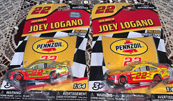 Joey Logano 22 Pennzoil Mustang Gt 1/64 Rcca Lionel 2020 Reg N Liq Color Chase