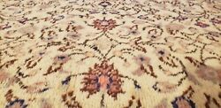 Beautiful Antique 1920-1930s Wool Pile Natural Dye Legendary Hereke Rug 6and0395andtimes9and0396