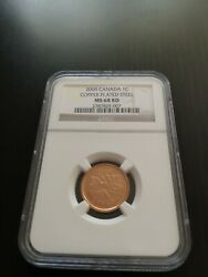 2009 Canada 1 Cent Ms 68 Rd Ngc Finest Graded