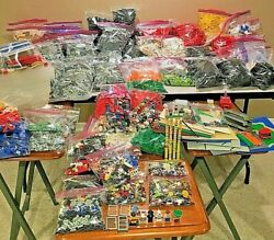 Massive Lego Collection 80+ Lbs/pounds W/ Minifigures, Baseplates, Bulk Lot Wow