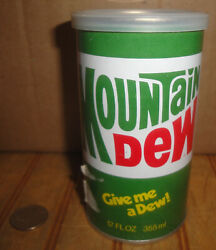 Vintage Mountain Dew Can With T-shirt Unopened