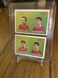 2004 Cristiano Ronaldo Bollycao Rare Rookie Stickers Portugal Cr7 Sporting Man U