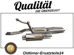 Stainless Steel Exhaust System For Mercedes 230sl 250sl 280sl W113 Pagode