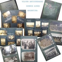 Very Important And Rare 2 German War Era Postcards Real Photo Album Wwi