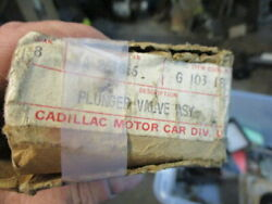 1937 1948 Cadillac And Lasalle 322 C.i. And 346 V-8 Valve Lifter Plunger Set Nos 2