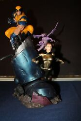 Sideshow Collectibles X-men Vs. Sentinel 3 Wolverine And Kitty Pryde/shadowcat