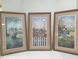 Glynda Turley Signed And Numbered Print Serigraph Prints- Set Of 3