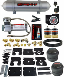 Air Tow Assist Kit W/compressor Tank And Controls For 99-06 Chevy Silverado 1500