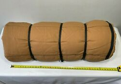 Vtg Rare Dacron Dupont Heavy Insulate Canvas Dog/duck Lined Hunting Sleeping Bag