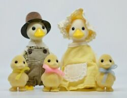 Sylvanian Calico Critters Puddleford Duck Family | Very Rare