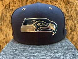 New Era Seattle Seahawks Boys Fitted Nfl Hat 6 1/2 Cap Toddler Kids Youth