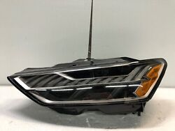 2019 2020 Audi A7 S7 Left Headlight With Matrix Beam Oem - Without Laser Light