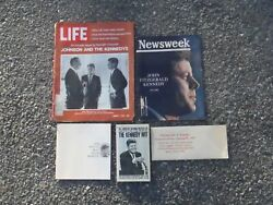 John F. Kennedy Collectibles Lot Of 5 Items