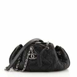 Sac Cordon Shoulder Bag Quilted Lambskin Medium