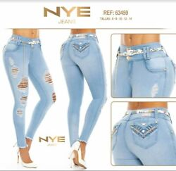 Nyejeans Colombianoscolombian Push Up Jeanslevanta Cola Usa Size 5 And 7