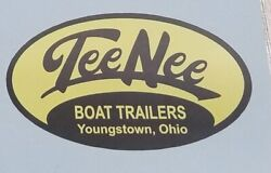 Tee Nee Trailer Vinyl Decal - Qty 1 - Size 3.86 X 2.25