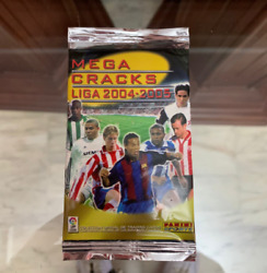 2004 Panini Megacracks Sealed Foil Pack Third Edition Lionel Messi Rc Year