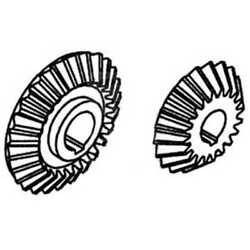 Matched Gear Set Compatible With Case Ih 1640 1680 1660 International 1480 1460