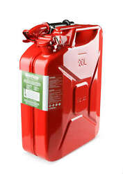 3009aor Anvil Offroad Jerry Can Red - 5.3 Gallon Steel W/ Safety Cap And Spout