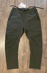 Nike Tech Pack Repel Woven Cargo Pants Menand039s Medium M Olive Green Bv4443-010 Nwt