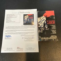 Sylvester Stallone Signed Autographed Vintage Lockup Vhs Movie With Jsa Coa