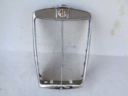 Vintage Original 1934 1935 Mg P-type Pa Radiator Grille Shell Assembly