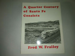 Rpc Direct Sale A Quarter Century Of Santa Fe Consists Hard To Find Out Of Print
