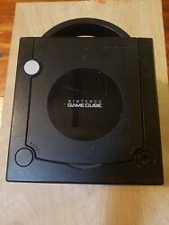 Console Only - Nintendo Dol-101 Gamecube Black Tested System Gaming Game Used Vg