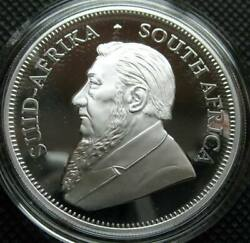 2018 South Africa 1 oz Silver Krugerrand BU Brilliant Uncirculated in Capsule $37.99