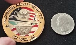 Rare Air Force One Security Forces Usaf Sfs White House President Challenge Coin