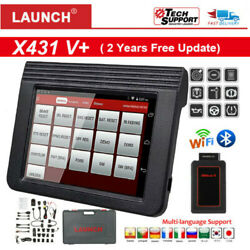 Launch X431 V+ Diagnostique Obd2 Wifi/bluetooth 10and039and039 Tablette Lecteurs Code Scan