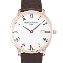 Frederique Constant Slimline - Fc-306mr4s4 - 2019 - Pvd Coated Steel