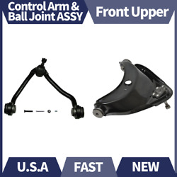 2pcs Moog Front Upper Control Arm And Ball Joint Assy Fits 1989-00 Chevrolet C2500