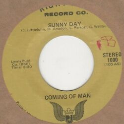 Coming Of Man Sunny Day Right Kind Soul Northern Motown