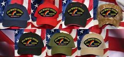 Us Army National Guard 42nd Division Hat Patch Iraqi Freedom Rainbow Division