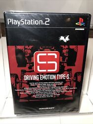 Driving Emotion Type S Ps2 Factory Sealed Japanese Import Usa Seller.