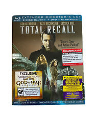 New Total Recall Blu Ray Dvd 4 Disc Set Target Exclusive + Rare Oop Slipcover