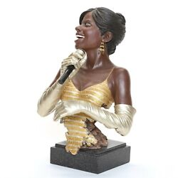 Willitts Design Jazz Sculpture Diva Singer Exceptional And Complete Condition