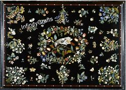 36 X 60 Inches Garden Table Top Unique Dining Table Inlay Work Christmas Gift