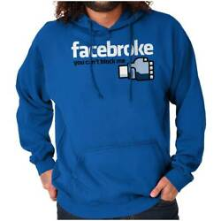 Funny Social Media Block Jiu Jitsu Gifts Hoodie Hooded Sweatshirt Men Women