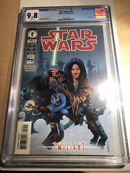 Star Wars 19 Cgc 9.8 White Pages 1st Appearance Aayla Secura Dark Horse Comics