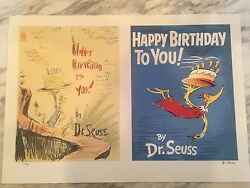 Sold Out - Happy Birthday To You Diptych Limited Edition Print