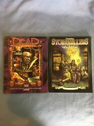 Lot Of 2 White Wolf Books Dead Magic And Changeling Storytellers Guide