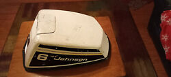 1975 Omc Johnson Evinrude Outboard Motor Cover Hood Engine Boat Cowl Lid 6 Hp