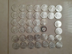 Silver Bullet Silver Shield Collection - 20 Coins From Early Mintage